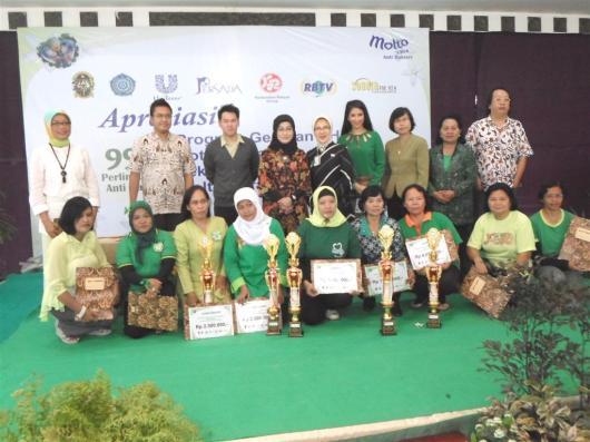 Penilaian PHBS RW 16 Meraih Juara Kategori Kreatif