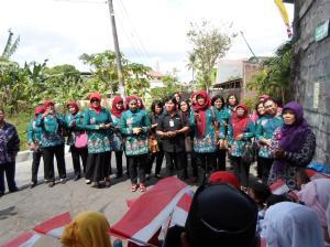 Kunjungan TP PKK Kota Malang
