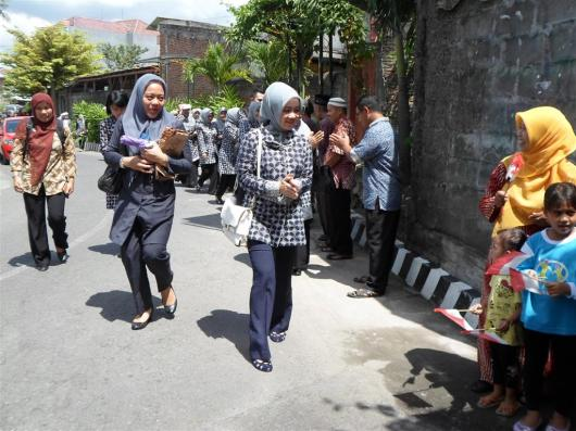 Kunjungan TP PKK Bandung